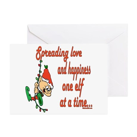 Spreading Love Elves Greeting Cards (Pk of 20)