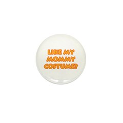 Mommy Costume Mini Button (10 pack)