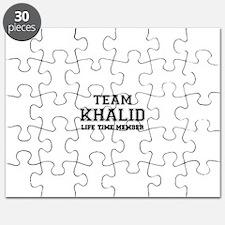 Team KHALID, life time member Puzzle