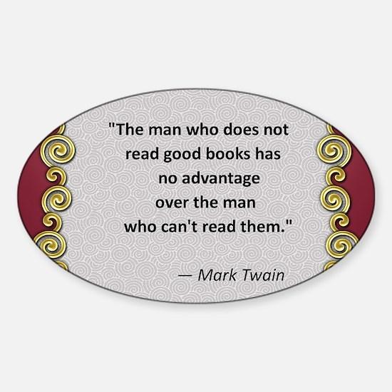 Reading Advantage - Twain Decal