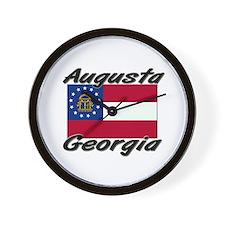 Augusta Georgia Wall Clock