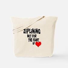 Ziplining Tote Bag