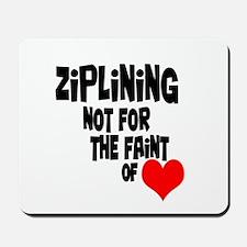 Ziplining Mousepad