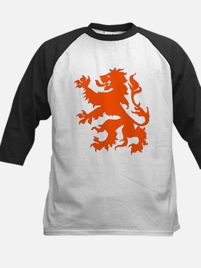 Dutch Lion Kids Baseball Jersey