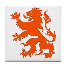 Dutch Lion Tile Coaster