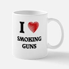 I love Smoking Guns Mugs