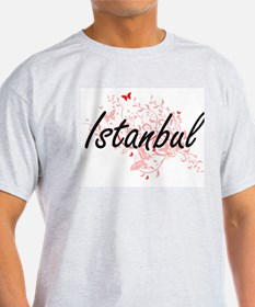 Istanbul Turkey City Artistic design with T-Shirt