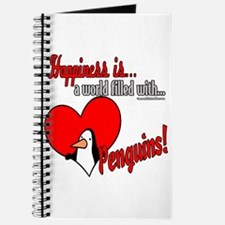 Happiness is penguins Journal
