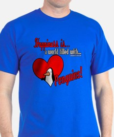 Happiness is penguins T-Shirt