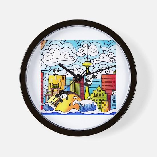 Cute Toronto Wall Clock