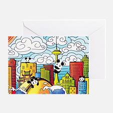 Cool Toronto Greeting Card