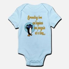 Spreading Love Penguins Onesie