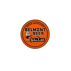 Belmont Beer-1930's Mini Button