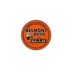 Belmont Beer-1930's Mini Button (10 pack)