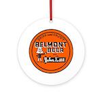 Belmont Beer-1930's Ornament (Round)