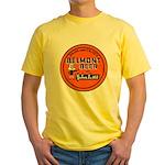 Belmont Beer-1930's Yellow T-Shirt