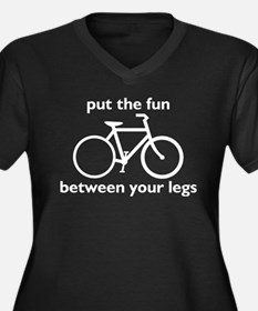 Bike: Fun Between Your Legs Plus Size T-Shirt