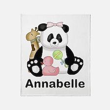 Annabelle's Panda Throw Blanket