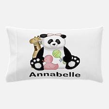 Annabelle's Panda Pillow Case