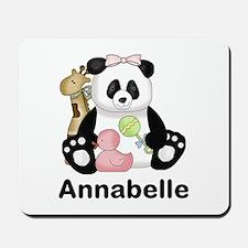 Annabelle's Panda Mousepad