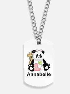 Annabelle's Panda Dog Tags