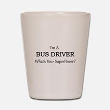 Bus Driver Shot Glass