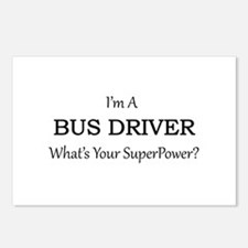 Bus Driver Postcards (Package of 8)