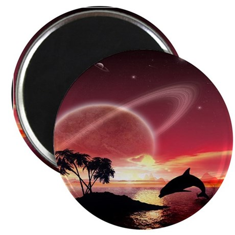 """A Dolphins Dream 2.25"""" Magnet (10 pack)"""