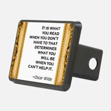 what you read wilde.jpg Hitch Cover