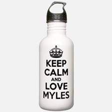Keep Calm and Love MYL Water Bottle