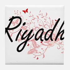 Riyadh Saudi Arabia City Artistic des Tile Coaster