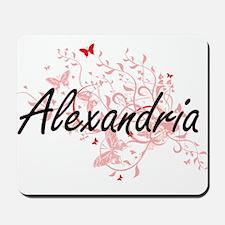 Alexandria Egypt City Artistic design wi Mousepad