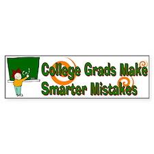 College Grads Bumper Car Sticker