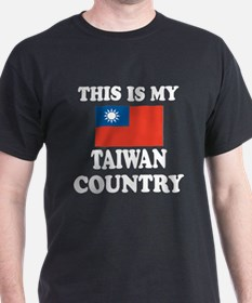 This Is My Taiwan Country T-Shirt