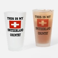 This Is My Switzerland Country Drinking Glass