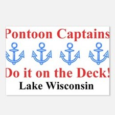 Pontoon Captains Postcards (Package of 8)