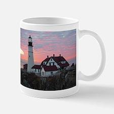 Portland Headlight Sunrise Mug