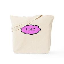 1 of 2 Pink Tote Bag