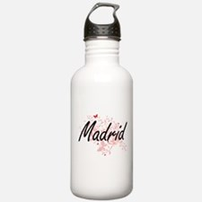 Madrid Spain City Arti Water Bottle