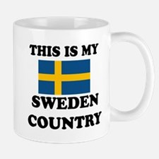 This Is My Sweden Country Mug