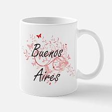 Buenos Aires Argentina City Artistic design w Mugs