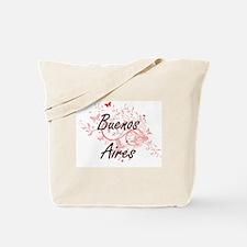Buenos Aires Argentina City Artistic desi Tote Bag