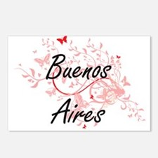 Buenos Aires Argentina Ci Postcards (Package of 8)