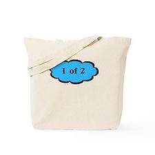1 of 2 Blue Tote Bag