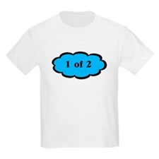 1 of 2 Blue T-Shirt