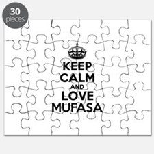 Keep Calm and Love MUFASA Puzzle