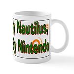 Nautilus Body Nintendo Brain Mug