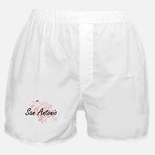 San Antonio Texas City Artistic desig Boxer Shorts