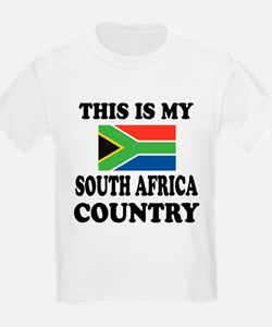 This Is My South Africa Country T-Shirt