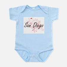 San Diego California City Artistic desig Body Suit